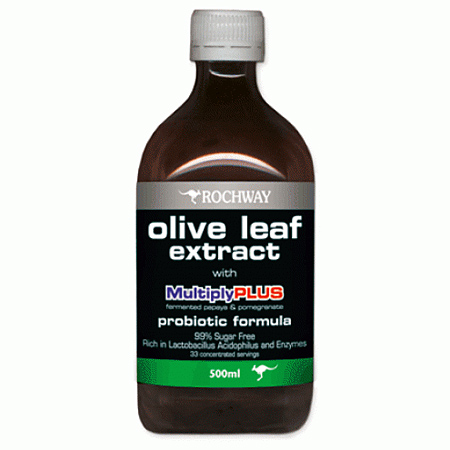 Fermented Olive Leaf Extract