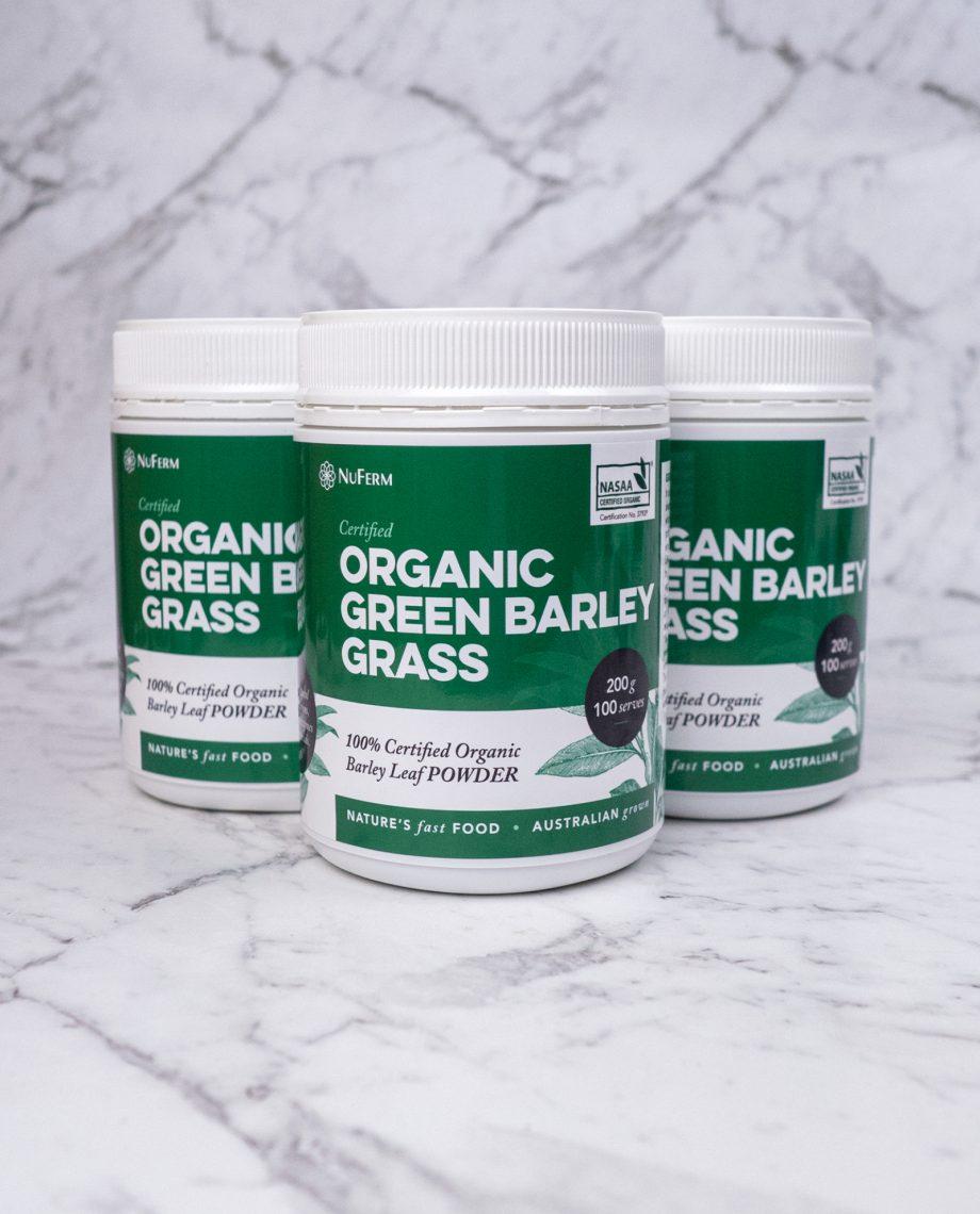 Organic Green Barley Grass