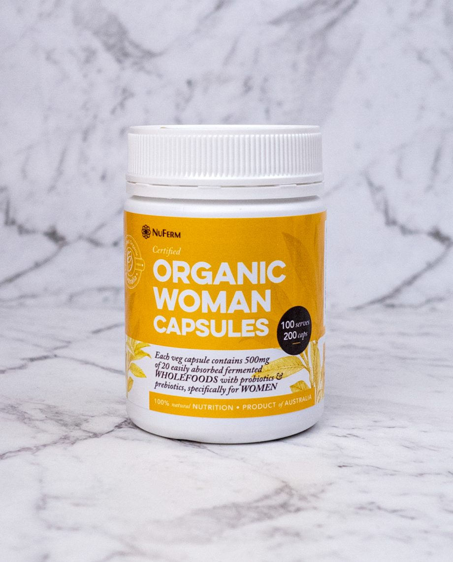 Organic Woman Capsules
